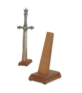Exhibitor of swords (size cadet) in vertical
