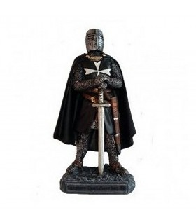 Miniature knight Hospitaller with sword