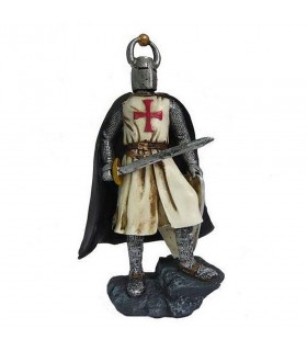 Miniature knight Templar with sword