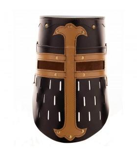 Great Helm Crusaders, black leather