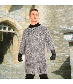 Chainmail medieval in aluminum