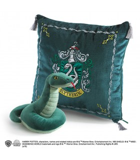 Cushion and stuffed Slytherin house, Harry Potter