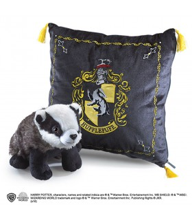 Cushion and plush house Hufflepuff, Harry Potter