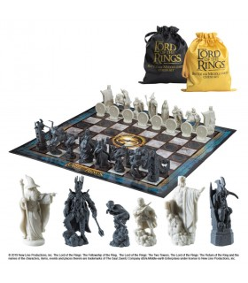 Chess Battle of the Earth Mediela, the Lord of The Rings