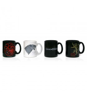 Set 4 Mini Tazas Cafe of Game of Thrones