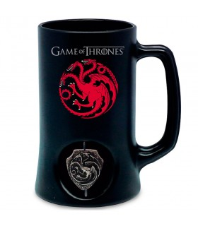 Pitcher black, of the house Targaryen of Game of Thrones