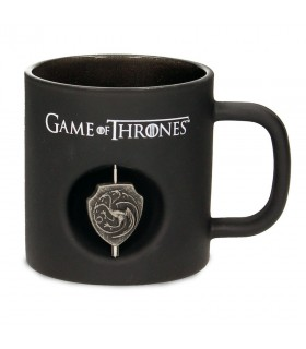 Cup black Glass house Targaryen from Game of Thrones