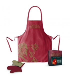 Apron and mitten house Lannister from Game of thrones