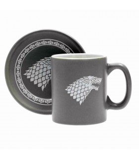 4 Mini-cups to coffee with shields of Game of Thrones
