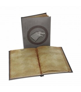 Book with light Stark of Game of Thrones
