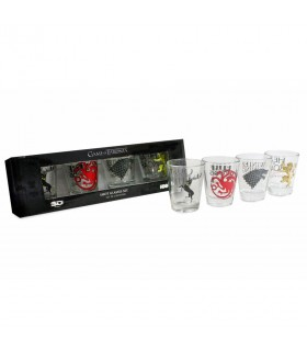 Set 4 cups shot glasses Game of Thrones
