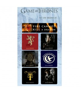 Set of Magnets from Game of Thrones (Series B)
