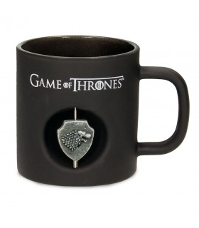 Cup black Crystal Stark of Game of Thrones