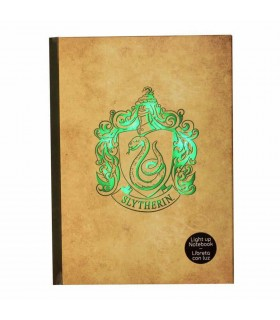 Book with light Slytherin Harry Potter