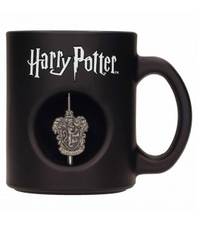 Cup black Glass Gryffindor from Harry Potter