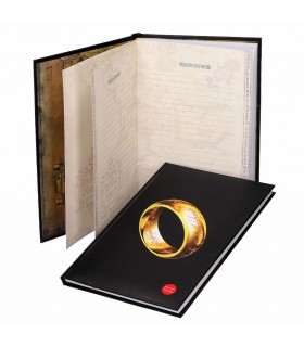 Book with light of the Lord of the Rings