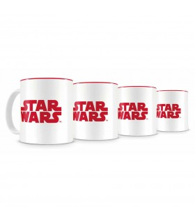 Set 4 Mini Tazas Cafe Star Wars Episode VIII