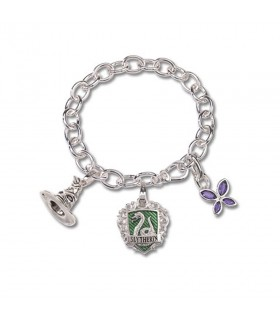 Bracelet Slytherin house, Lumos, Harry Potter