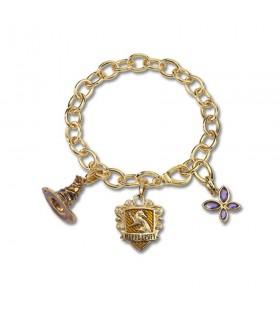 Bracelet house Hufflepuff, Lumos, Harry Potter