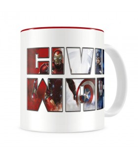 Cup Captain America Civil War, Marvel Comics