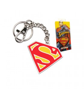 Keychain shield Superman in color