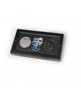 set 2 coins, Harvey Dent Batman: two faces with exhibitor