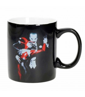 Cup ceramic Harley Quinn and Joker, DC Comics