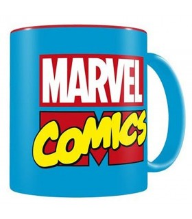 Mug ceramic logo Marvel Comics