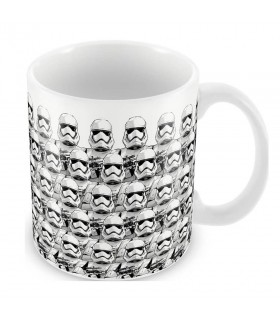 Cup pottery Stamped Stormtroopers Ep. 7, Star Wars