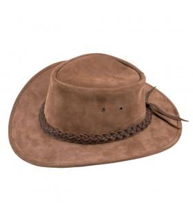 Brown hat cowboy wild west