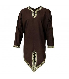Tunica medieval embroidery, long sleeve