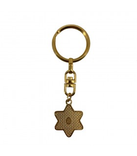 Key Damasquinado Star of David