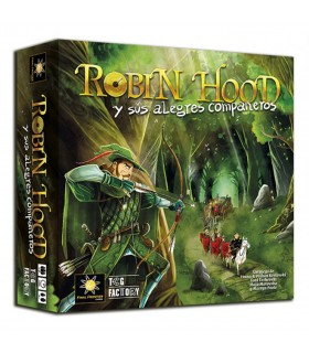 Board game Robin Hood and his merry companions (in Spanish)