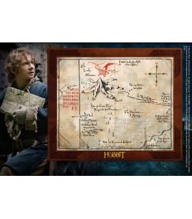 Box Map of Thorin Shield of Oak, Hobbit