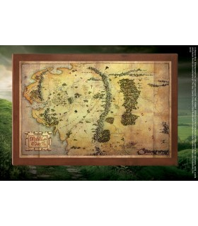 Box Map of Middle Earth, The Hobbit