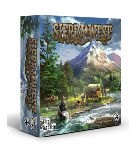 Board game Sierra West 1840 (in Spanish)
