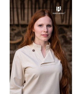 Tunic medieval woman Lennja, natural
