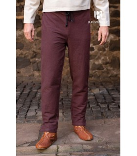 Pants medieval Gunnar, brown