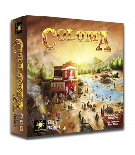 Board game Coloma, Gold Rush 1848 (In Spanish)