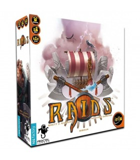 Board game of viking Raids (In Spanish)