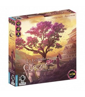 Board game The Legend of the Cherry tree that blooms every ten years (In Spanish)