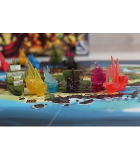 Board game Dead Man's Doubloons (Spanish)