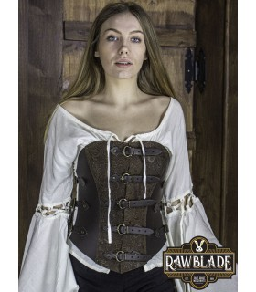 Corset pirate deluxe Grace, brown