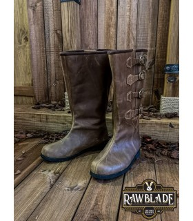 Boots medieval Duncan, brown