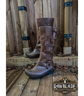 Boots medieval knight Jarek, brown