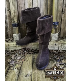 Boots medieval adventurer Neverman, brown