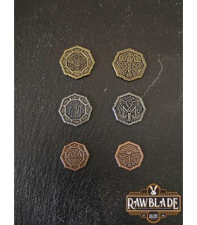 Currency of the Dwarves, silver finish