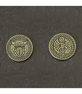Currency of the Vikings, gold finish