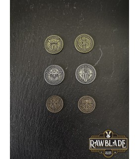 Currency of the Vikings, bronze finish