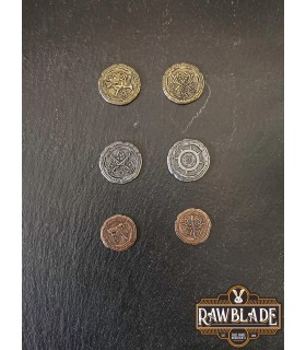 Currency of the Orcs, silver finish